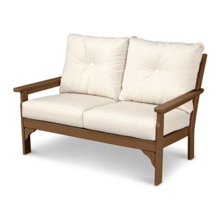 Polywood Vineyard Deep Seating Settee