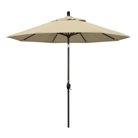 9' Market Style Outdoor Umbrella with Wind Vent Antique Beige