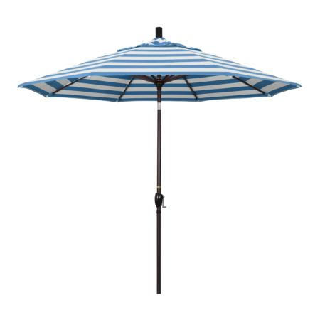 9' Market Style Outdoor Umbrella with Wind Vent Cabana Regatta