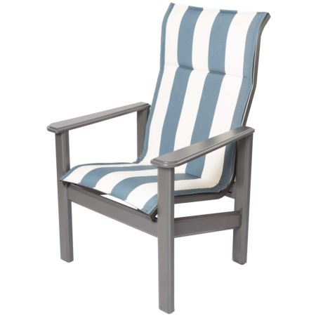 Hampton Marine Grade Polymer High Back Chair-Pictured in Bistro Maritime
