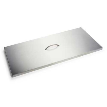 Gas Fire Table Stainless Steel Lid 36 x 14