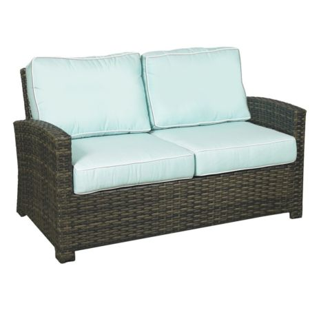 Lakeside Wicker Loveseat
