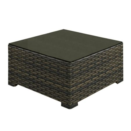 Lakeside Wicker Square Coffee Table
