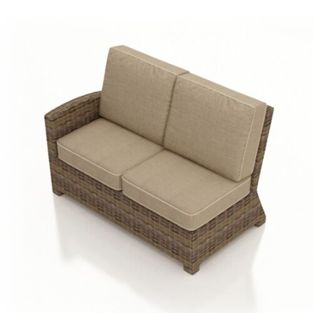 Sectional Left Arm Loveseat