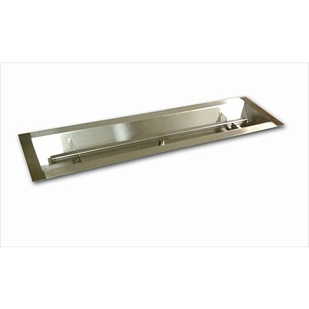 Stainless Steel Linear Channel Fire Pit Burner