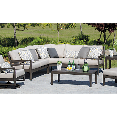 Lucia 3 Piece 45 Degree Curved Sectional