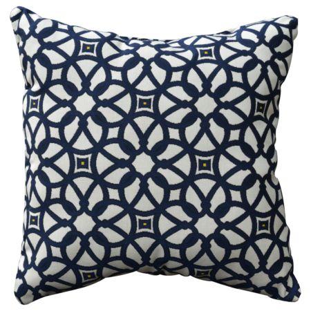Luxe Indigo Throw Pillow