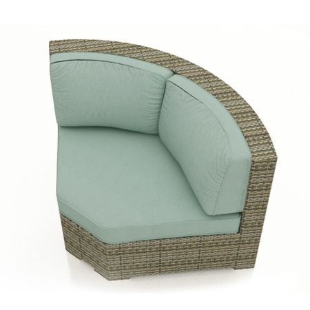 Malibu 45 degree Sectional Corner Replacement Cushion