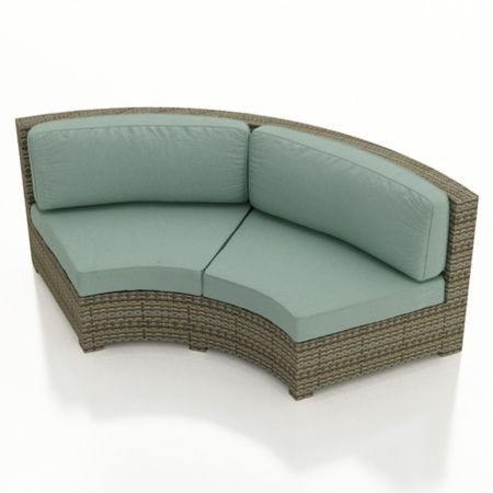 Malibu Contour Curved Sofa Replacement Cushions