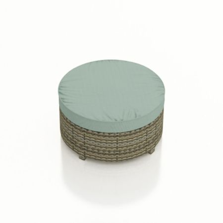 Malibu Large Round Ottoman Replacement Cushion