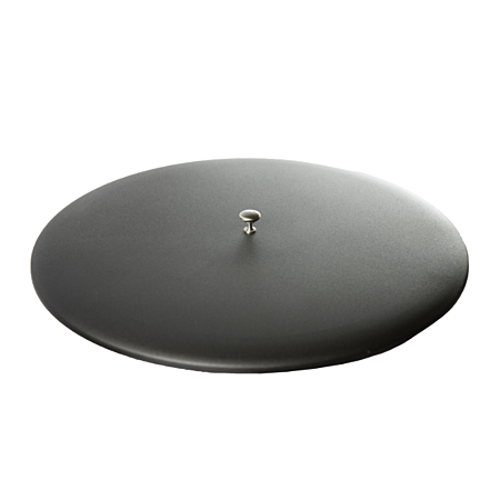 Oriflamme Metal Fire Table Lid in Black