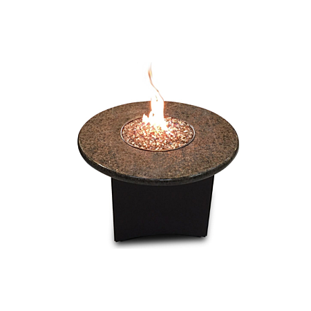 Oriflamme Mini 32'' Granite Fire Pit Table