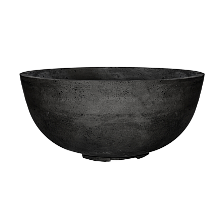 Prism Ebony Moderno 1 Concrete Fire Bowl