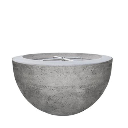 Prism Moderno 3 Concrete Fire Bowl