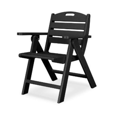 Polywood Nautical Lowback Chair