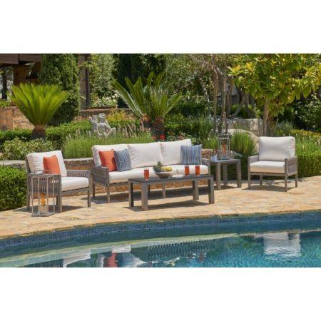Palm Cay 5 Piece Polyflex Patio Furniture Set