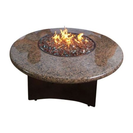 Oriflamme Gas Fire Pit Table Tropical Elegance