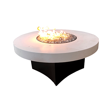 Oriflamme Glacier Stone Gas Fire Table