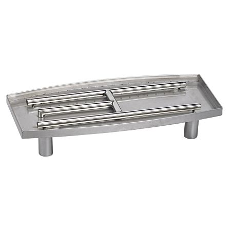 304 Stainless Steel Oval Fireplace Pan Burner