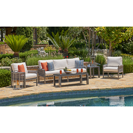 Palm Cay 5 Piece Polyflex Patio Furniture Set