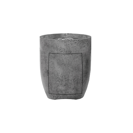 Prism Pentola 3 Concrete Fire Pit Bowl (Enclosed Propane Unit)