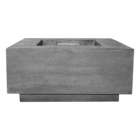 Prism Tavola 2 Concrete Fire Table Square