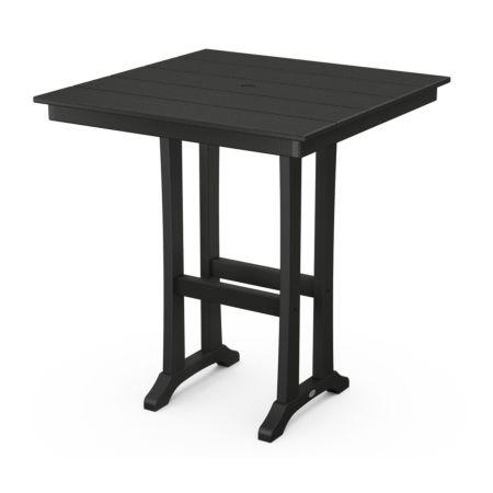 """Polywood Farmhouse Trestle 37"""" Bar Table"""