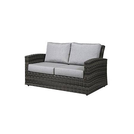 Portofino Loveseat in Frequency Ash