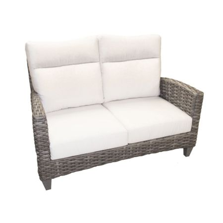 Portofino Wicker Loveseat
