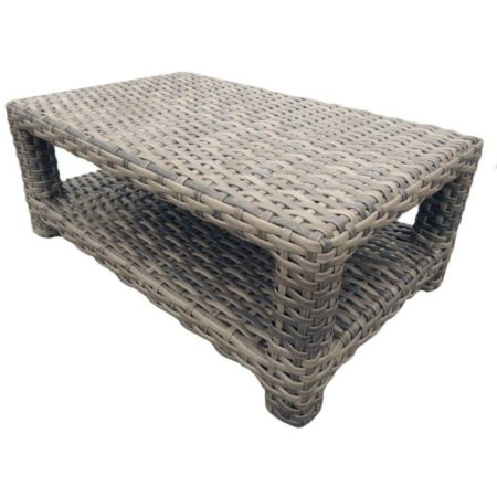 Portofino Wicker Rectangular Coffee Table