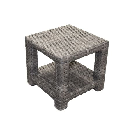 Portofino Wicker Square End Table