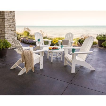 POLYWOOD Vineyard 5-Piece Oversized Adirondack Set