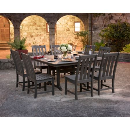 Polywood Vineyard 9-Piece Dining Set
