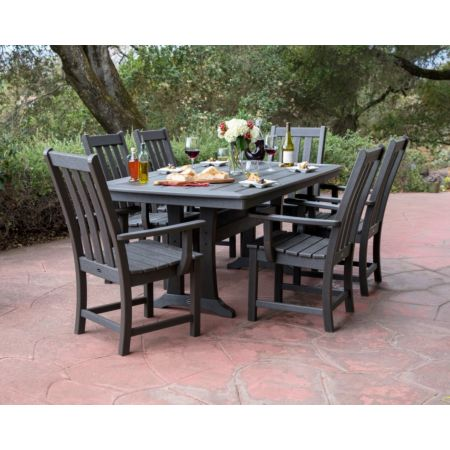 POLYWOOD Vineyard 7-Piece Dining Set