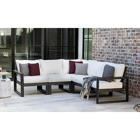 Polywood EDGE 5 piece sectional