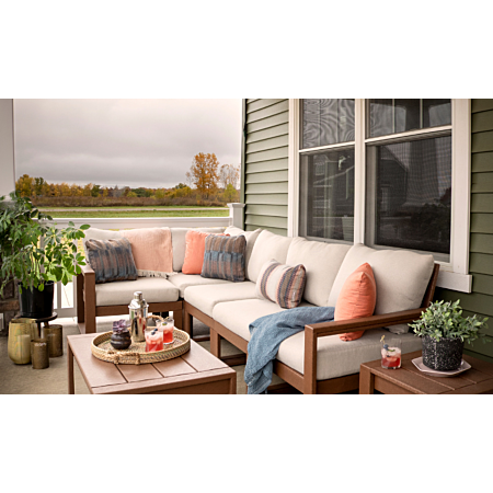 Polywood Edge 5 piece modular sectional