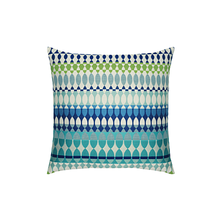 Elaine Smith Outdoor Modern Oval Ocean Pillow