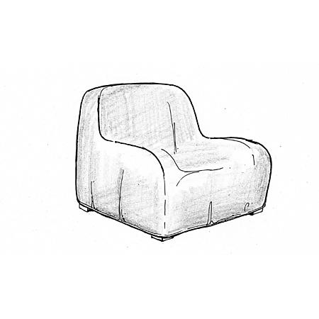 Outdoor Ratana Club Chair Cover