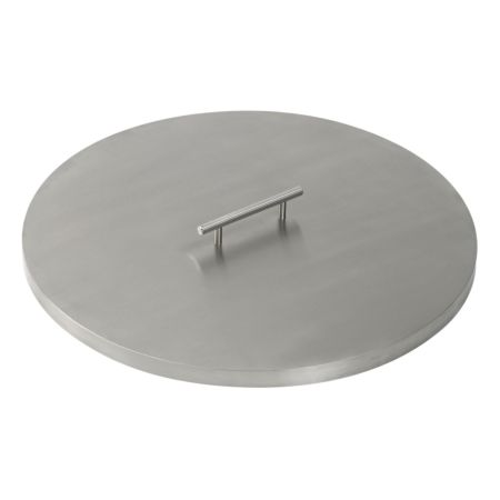 Round Stainless Steel Fire Pit Cover