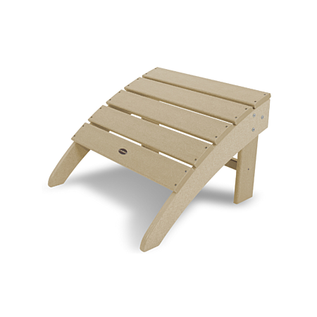 South Beach Adirondack Ottoman in Sand