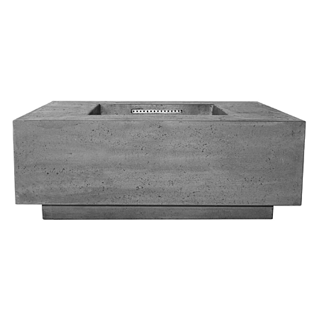 Prism Tavola 3 Concrete Fire Table Square