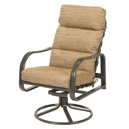 Sonata Cushion High Back Swivel Rocker