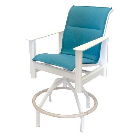 Hampton Sling Marine Grade Polymer Swivel Bar Chair