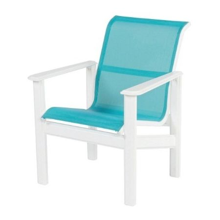 Hampton Sling Marine Grade Polymer Dining Arm Chair