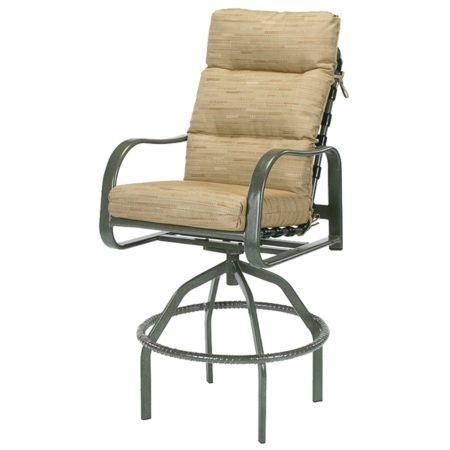 Sonata Deep Cushion Swivel Bar Chair