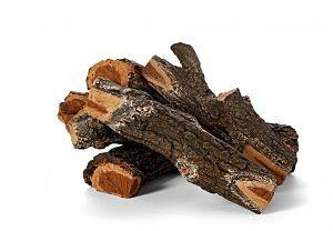 Arizona Weathered Oak Outdoor Reusable Fire Logs by HPC