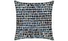 Elaine Smith Outdoor Thumbprint Indigo Pillow