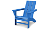 Modern Adirondack in Pacific Blue