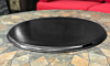 Fire Table Fire Pit Metal Lid Cover- Black