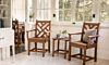 POLYWOOD Chippendale Dining Arm Chair
